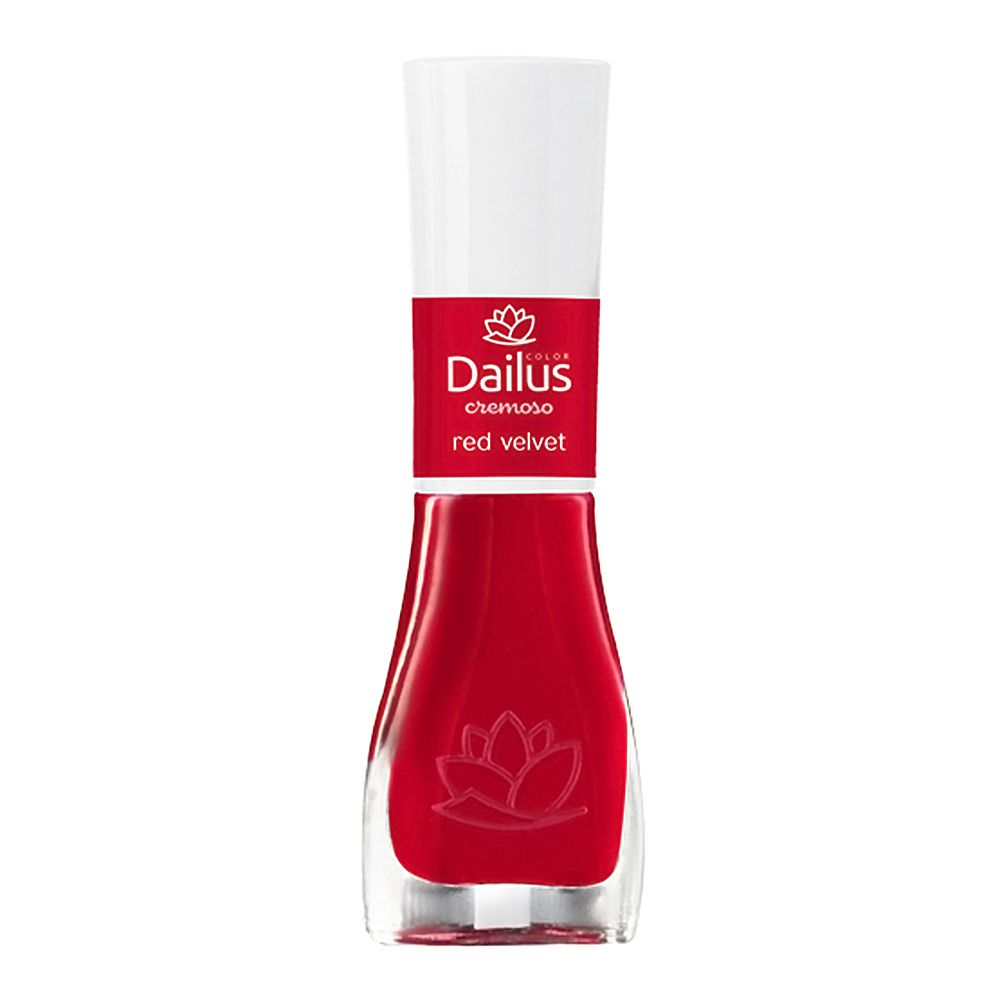 Esmaltes Cremoso Red Velvet 8ml - Dailus