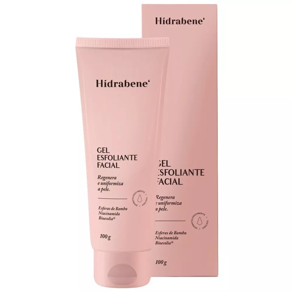 Gel Esfoliante Facial - 100g- Hidrabene
