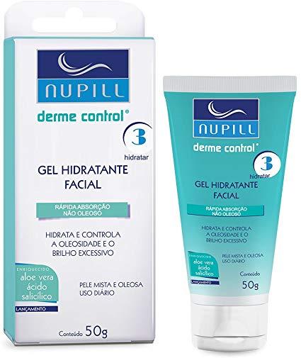 Gel Hidratante Facial  Derme Control - 50g-Nupill