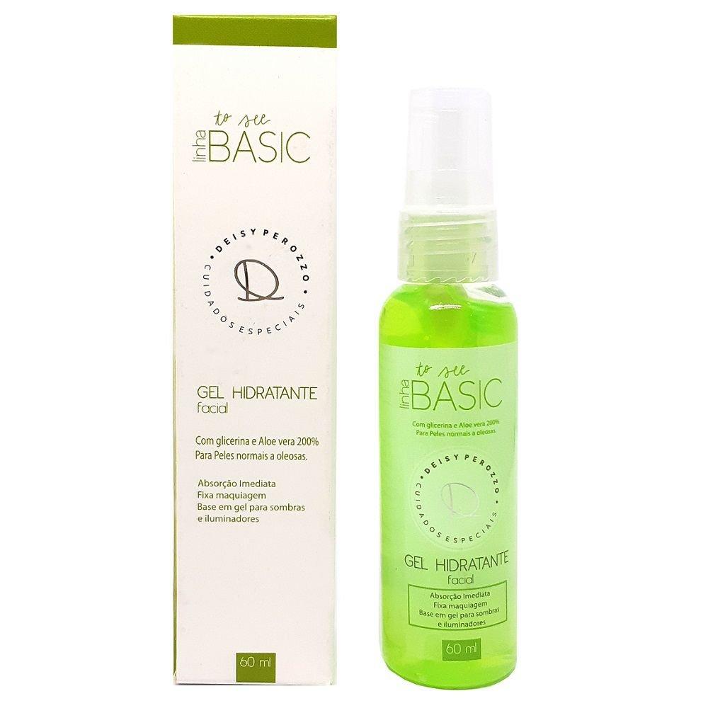 Gel Hidratante Facial - Linha Basic - 60 ml  -Deisy Perozzo