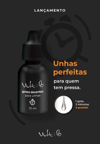 Gotas Secantes para Unhas - 10ml - Vult
