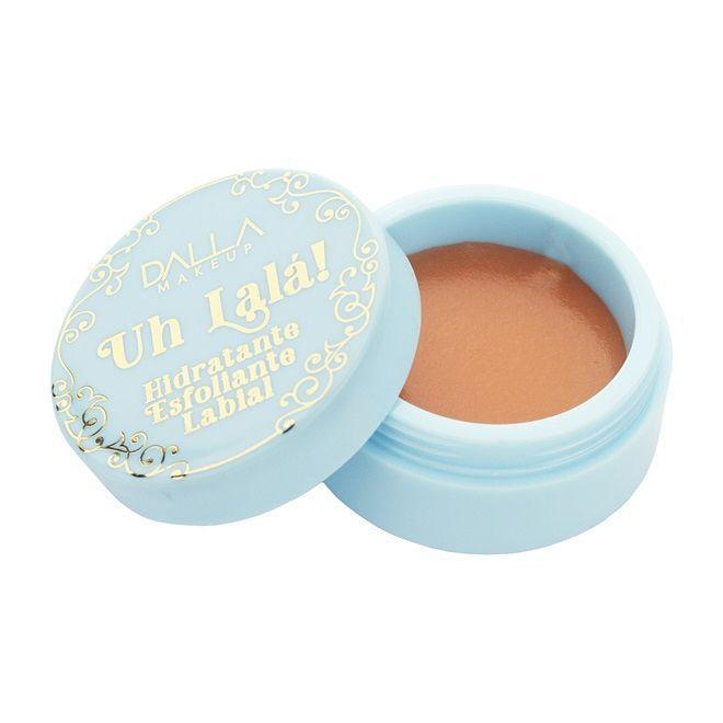 Hidratante Esfoliante Lábial Uh Lalá! - Caramel Pudding - 9g - Dalla Makeup