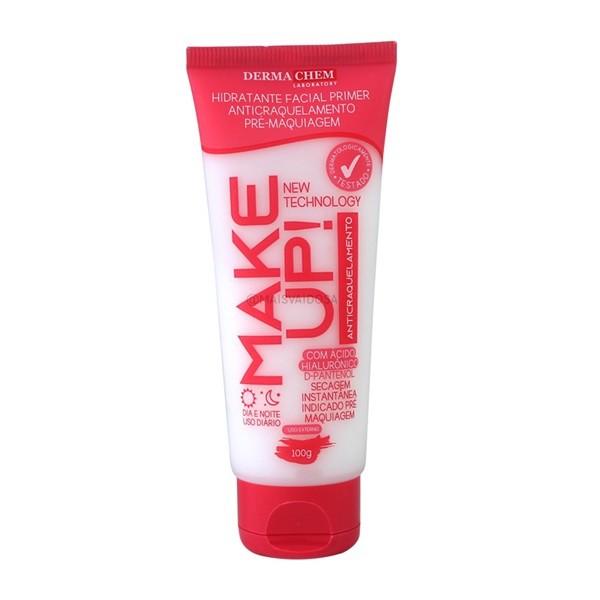 Hidratante Facial Primer Anti-Craquelamento Pré Maquiagem 100g - Dermachem