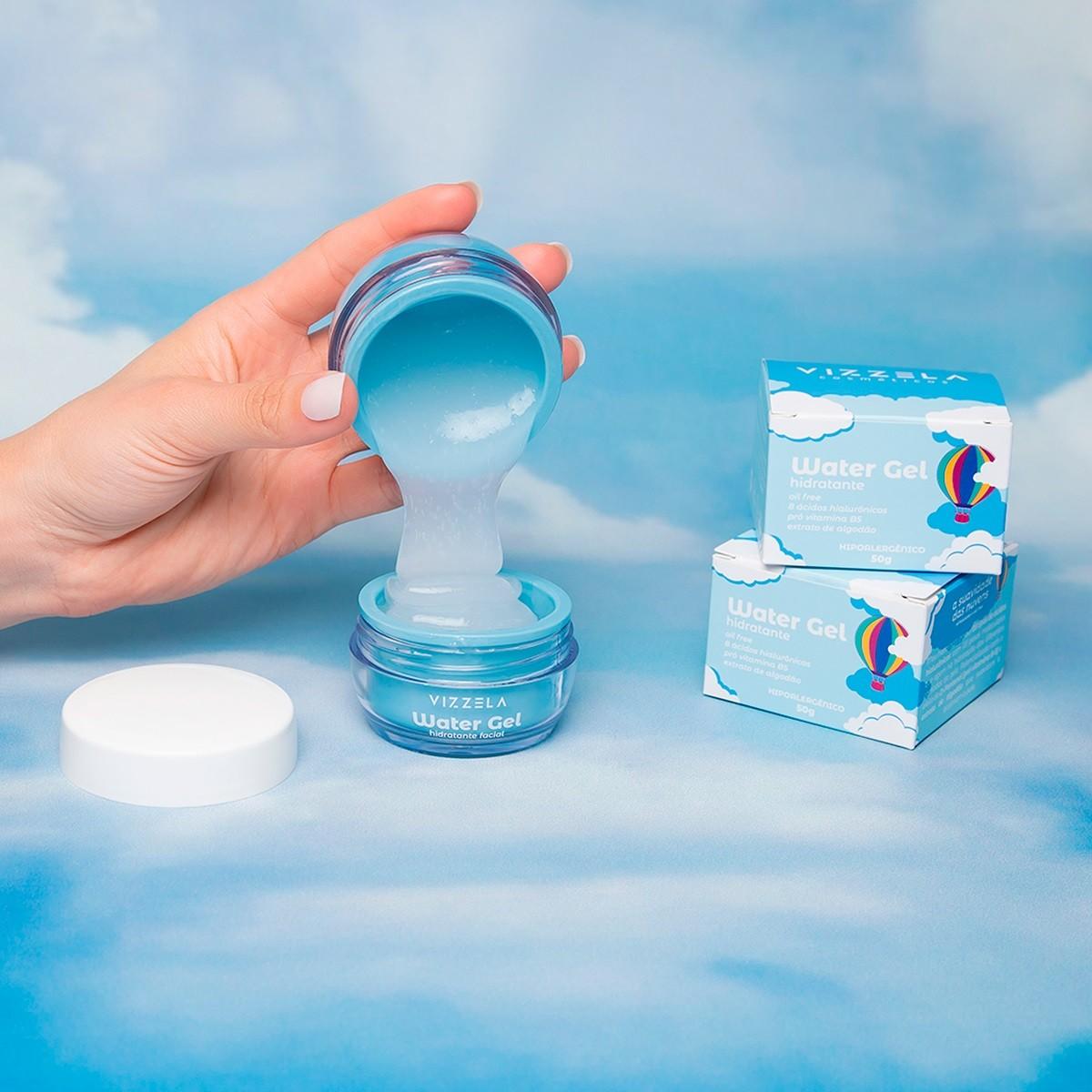 Hidratante Facial Water Gel 50g - Vizzela