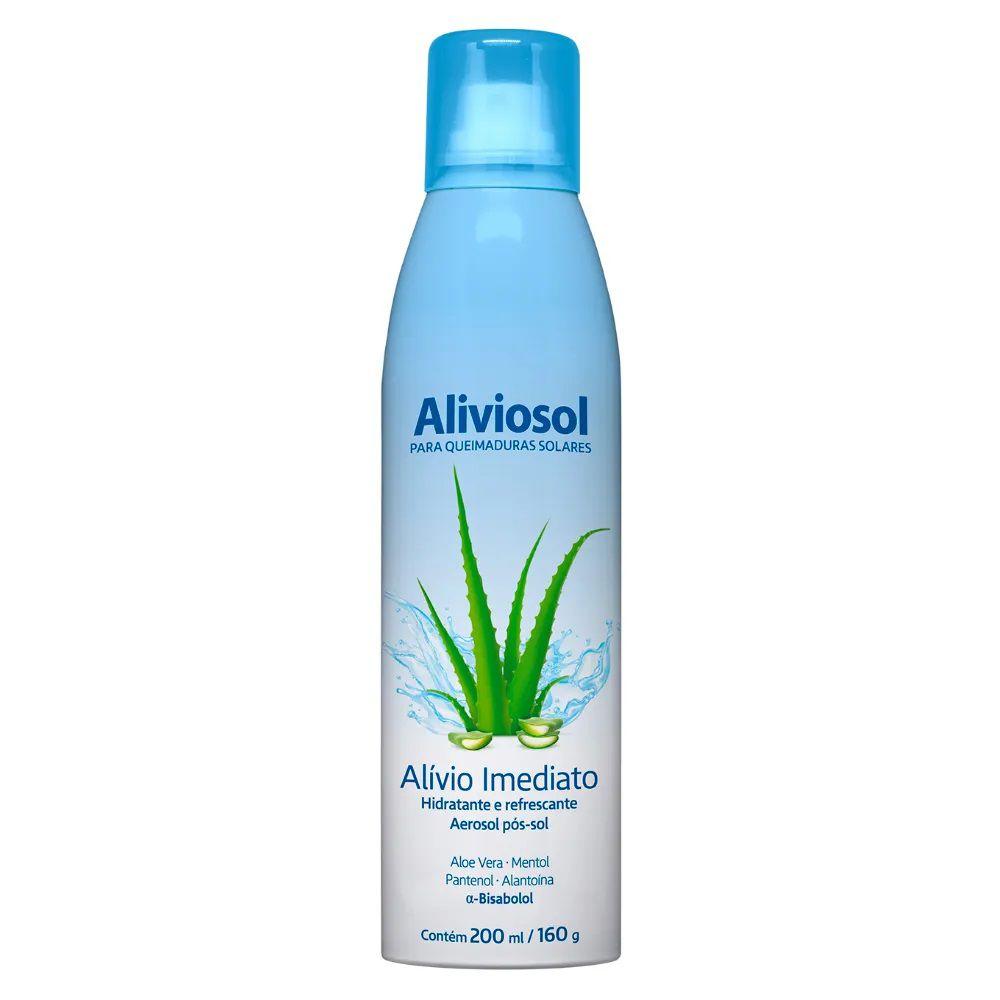 Hidratante Pós-Sol Aerosol  Aliviosol  200ml - Anasol