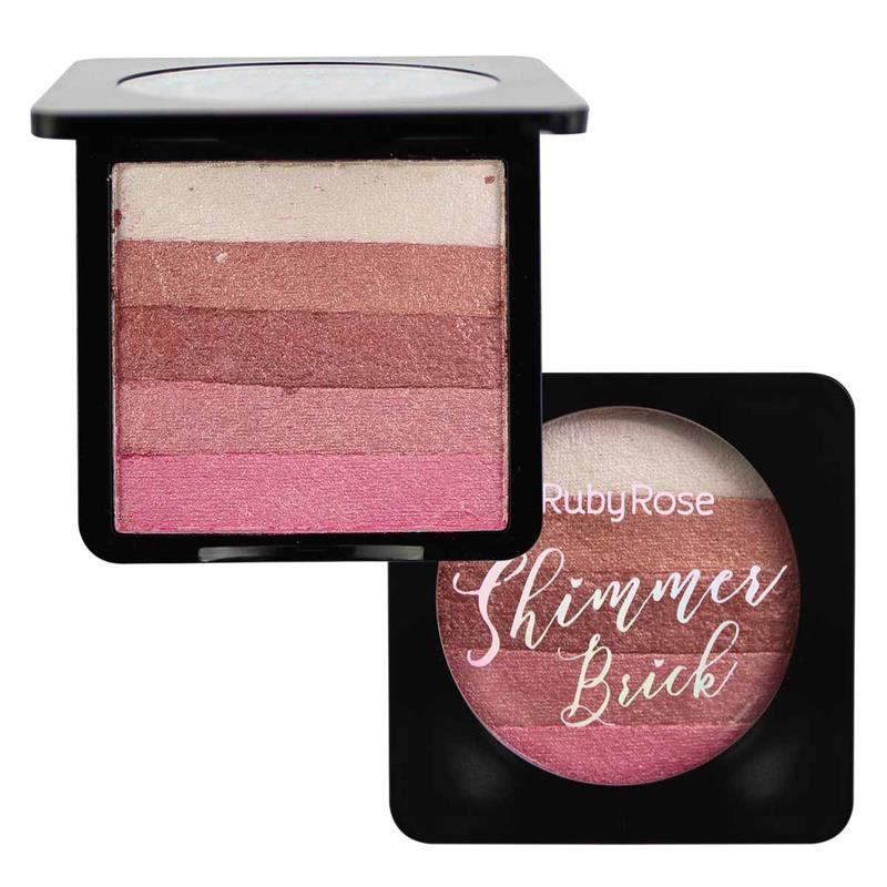 Iluminador Shimmer Brick 4 Rose - Ruby Rose
