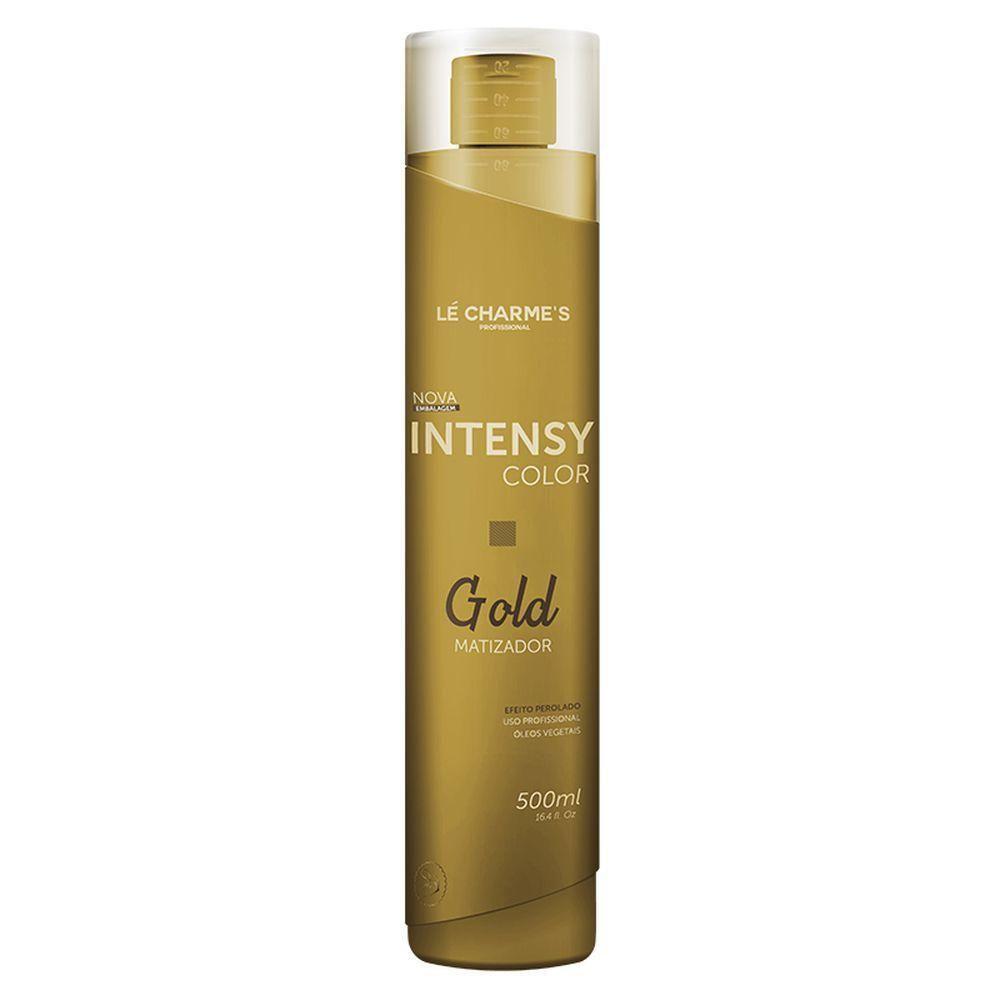 Intensy Color Máscara Matizadora Gold Perolado 500ml - Le Charmes