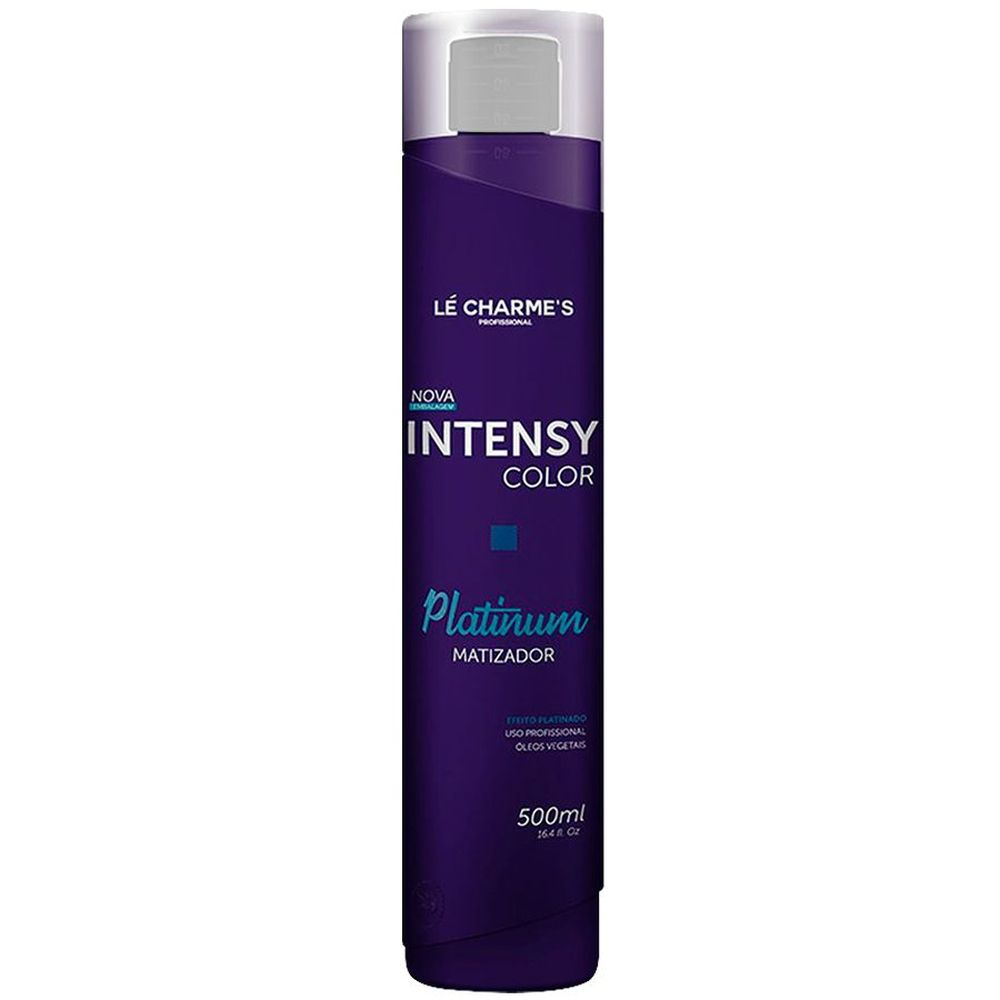 Intensy Color Máscara Matizadora Platinum 500ml - Le Charmes