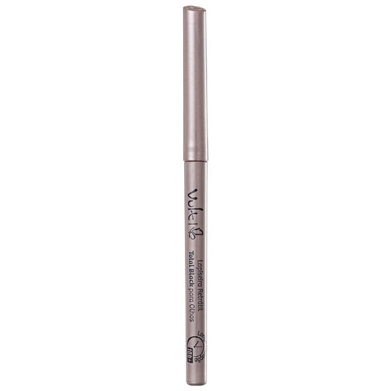 Lápiseira para Olhos Retrátil Total Black Longa Duração - Vult