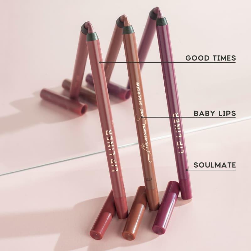 Lip Liner Lápis de Contorno Labial Soulmate Mariana Saad - Oceane