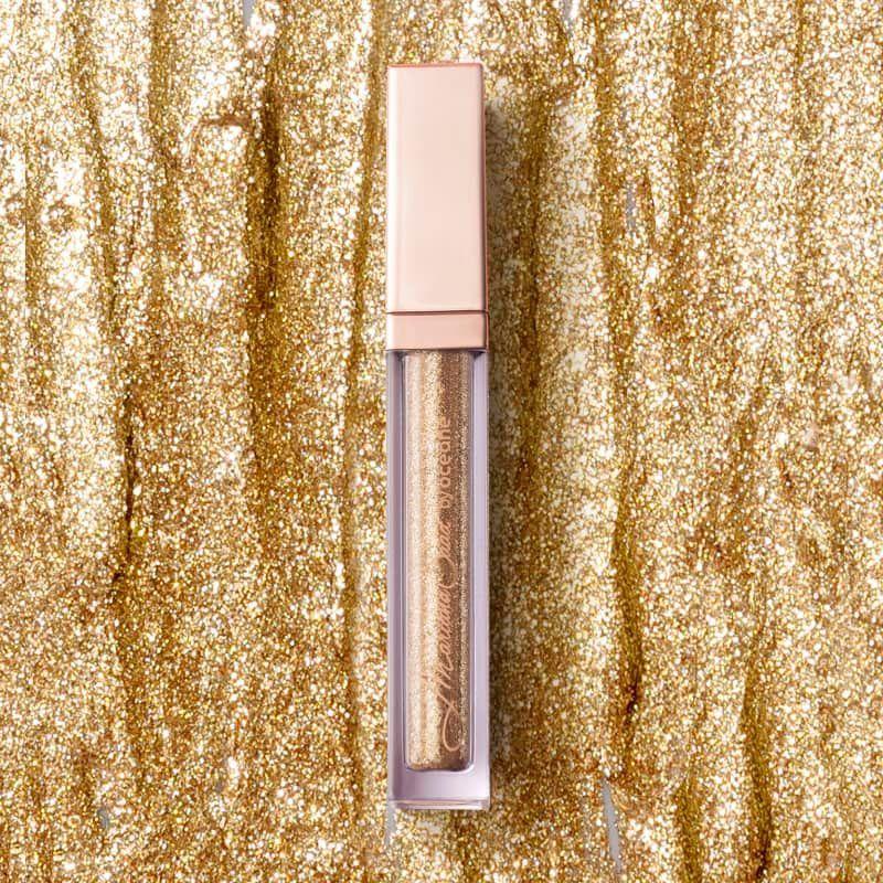 Liquid Eyeshadow Shine e Glow  cor:Citrine - Sombra Líquida Dourada Mariana Saad 4,2g