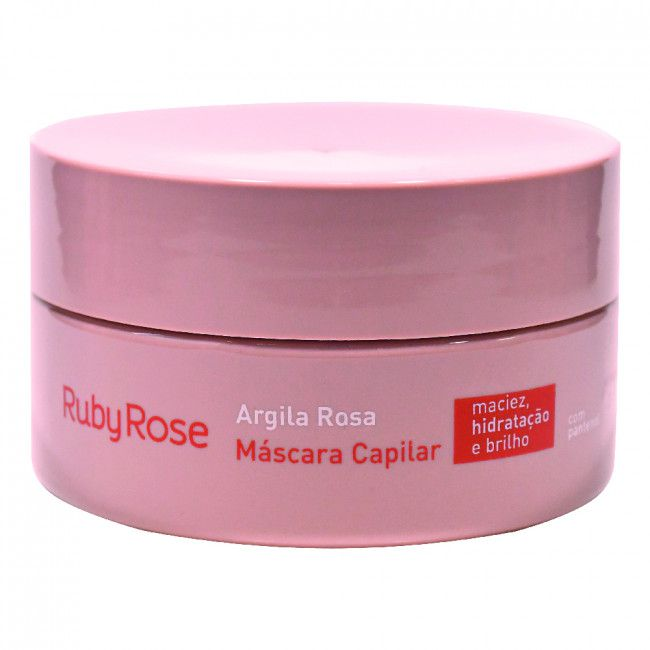 Mascára  Argila Rosa -200g - Ruby Rose