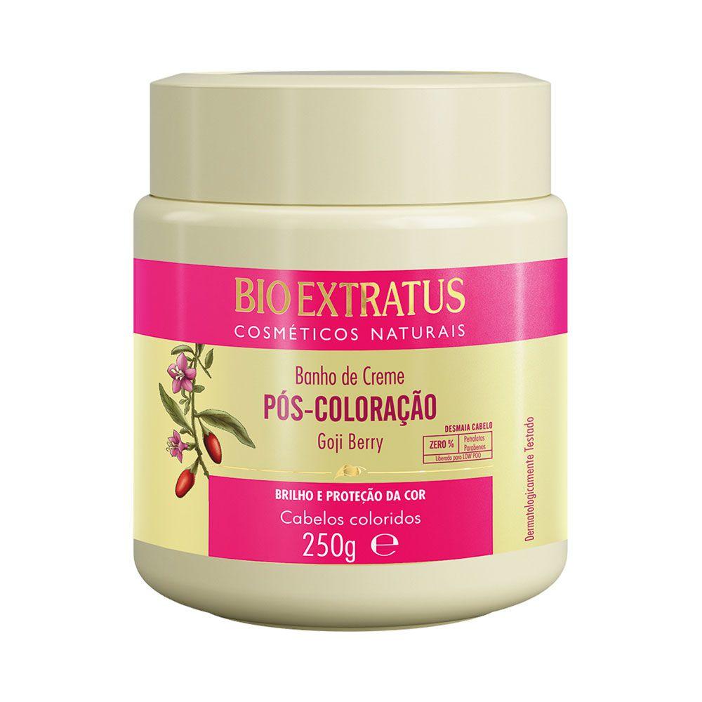 Máscara Banho de Creme Pós-Coloração 250g - Bio Extratus