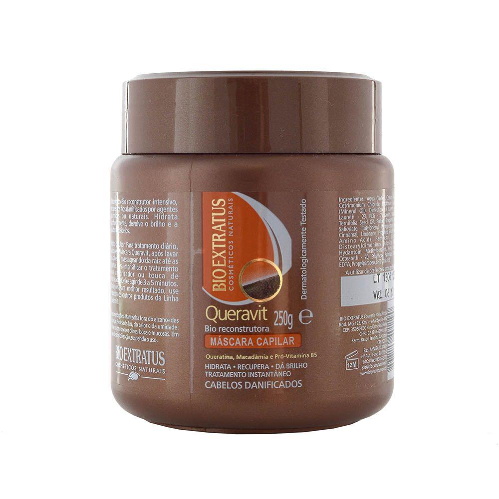 Máscara Capilar De Tratamento Queravit 250g - Bio Extratus