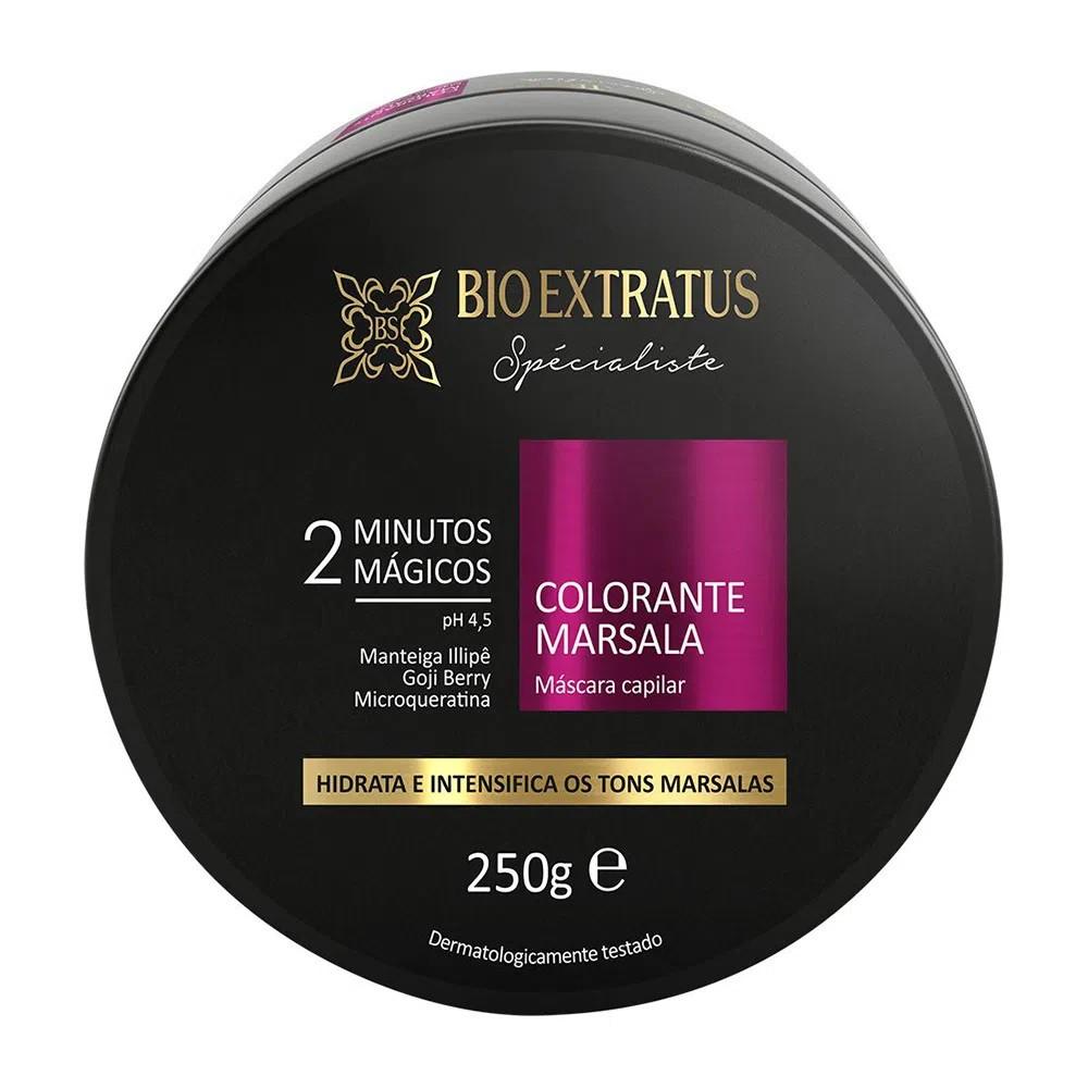Máscara Colorante Spécialiste Marsala - 250g - Bio Extratus