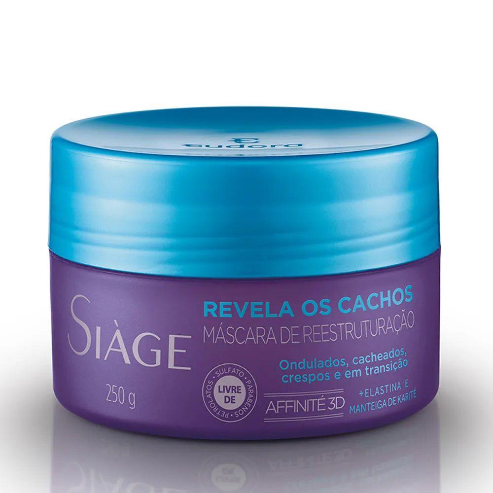 Mascara de Tratamento Revela os Cachos - 250g - Siàge