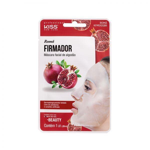 Máscara Facial de Algodão - Romã - Kiss Ny