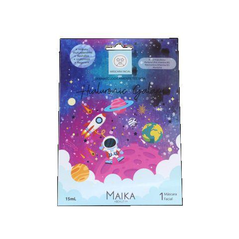 Máscara Facial Hialuronic Galaxy - 1Unid - Maika