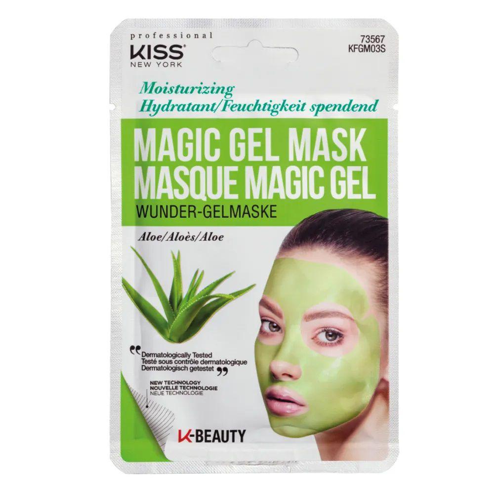 Máscara Facial Kiss New York - Magic Gel Mask Aloe - 1 Un