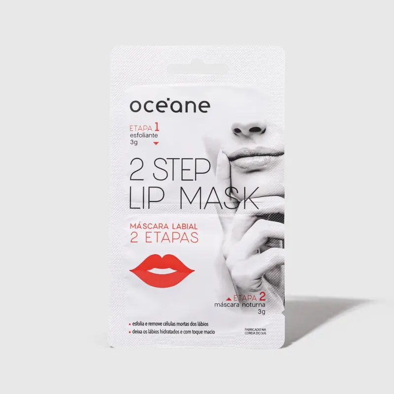 Máscara Labial 2 Etapas -2 Step Lip Mask - Oceane