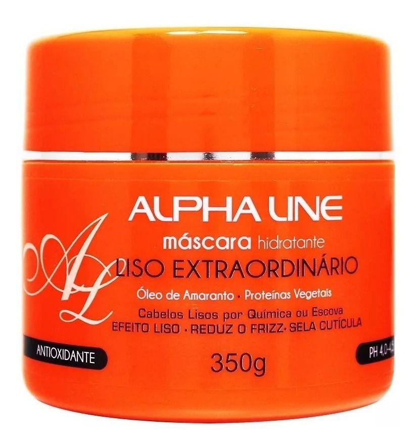 Máscara Liso Extraordinário 350g - Alpha Line