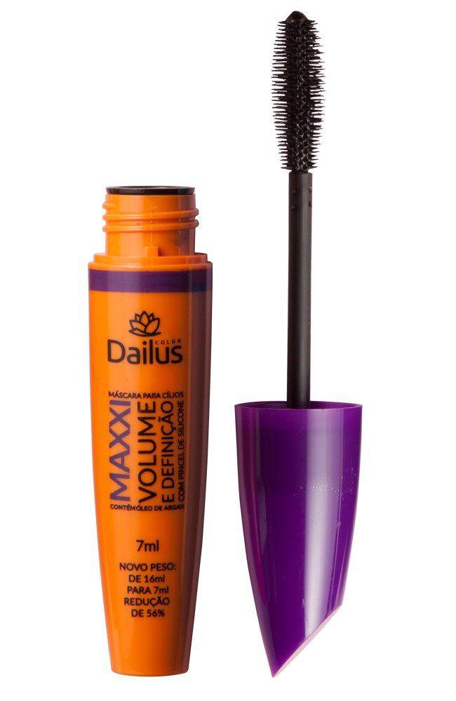 Máscara para Cílios Maxxi Volume e Definição 7ml - Dailus