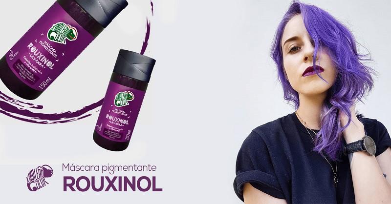 Máscara Pigmentante  Rouxinol - Lavanda   150ml - Kamaleão Color
