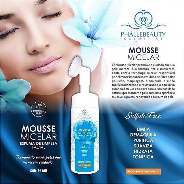 Mousse Micelar Facial 150ml - Phallebeauty