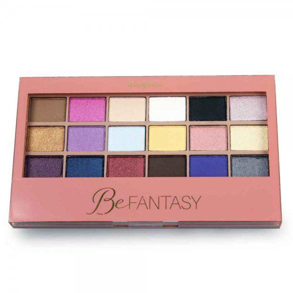 Paleta de Sombra Be Fantasy HB-9920 (18 Sombras,1 Primer) - Ruby Rose