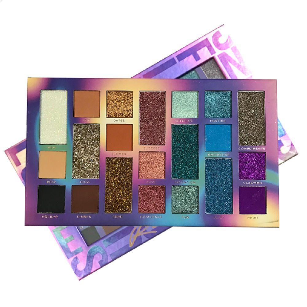 Paleta de Sombras e Glitter Ready For  - Ruby Rose