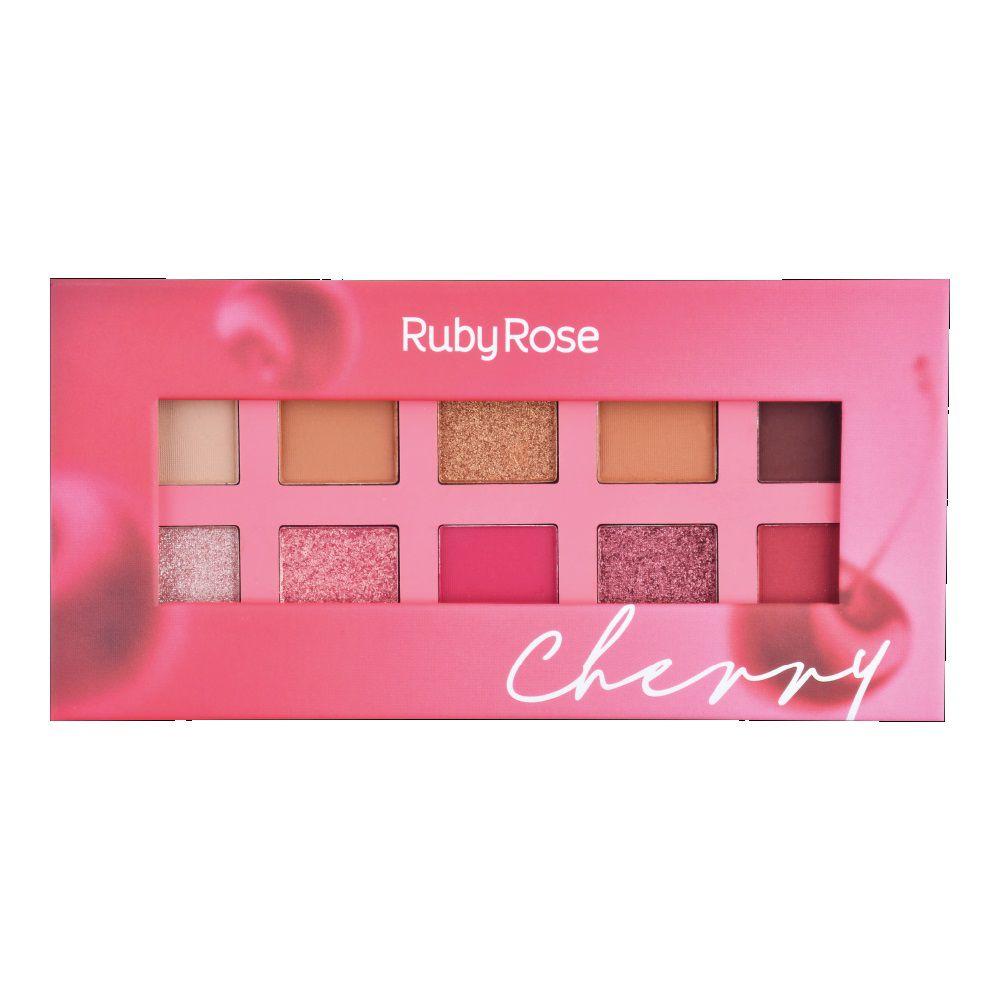 Paleta De Sombras Essência Cherry ? Ruby Rose