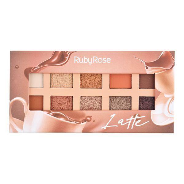 Paleta De Sombras Essência Latte - Ruby Rose
