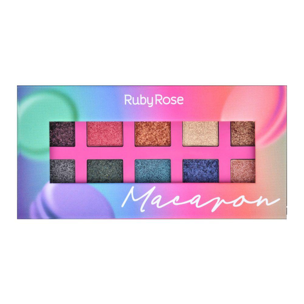 Paleta De Sombras Essência Macaron ? Ruby Rose