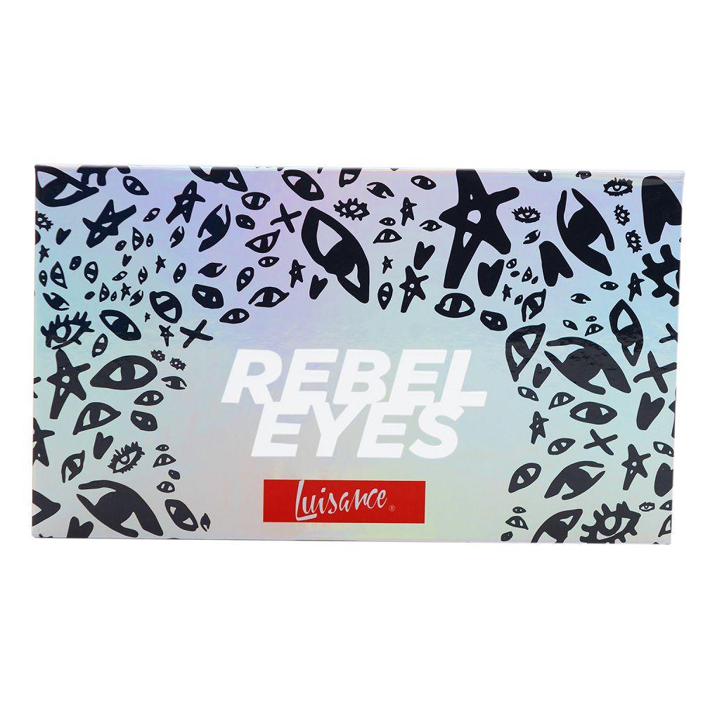Paleta De Sombras Rebel Eyes - 18 cores - Luisance