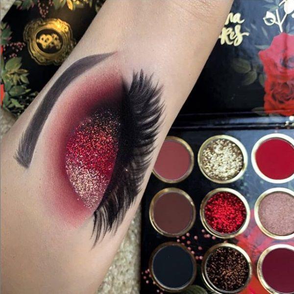 Paleta de Sombras Red Rose - Bruna Tavares