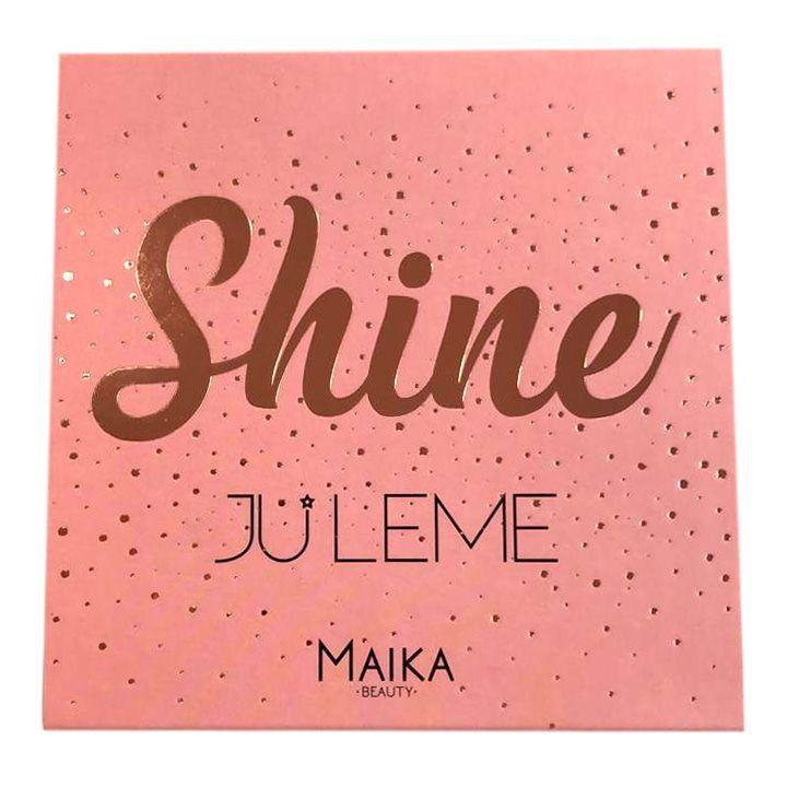 PALETA DE SOMBRAS SHINE - JU LEME - Maika