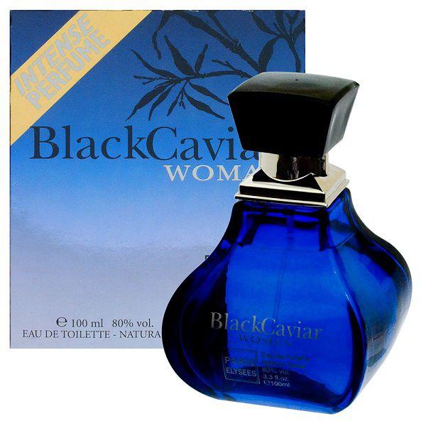 Perfume Feminino Black Caviar Woman 100ml - Paris Elysees