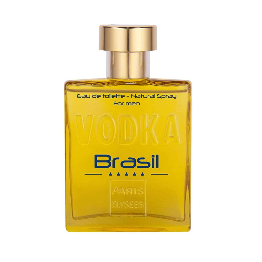 Perfume Vodka Brasil Amarelo Masculino Eau de Toilette 100ml - Paris Elysees
