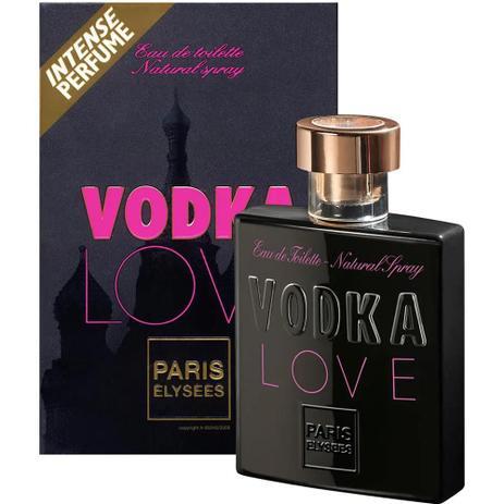 Perfume Vodka Love Feminino Eau de Toilette 100ml - Paris Elysees