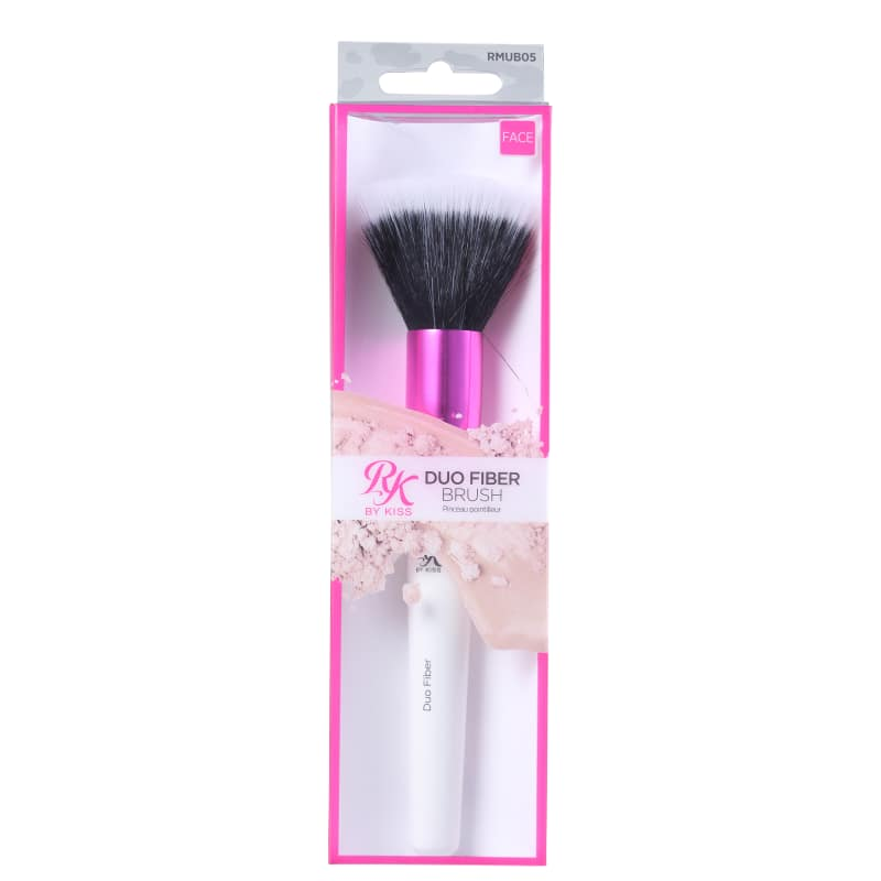 Pincel Duo Fiber Brush RMUB05 - RK By Kiss