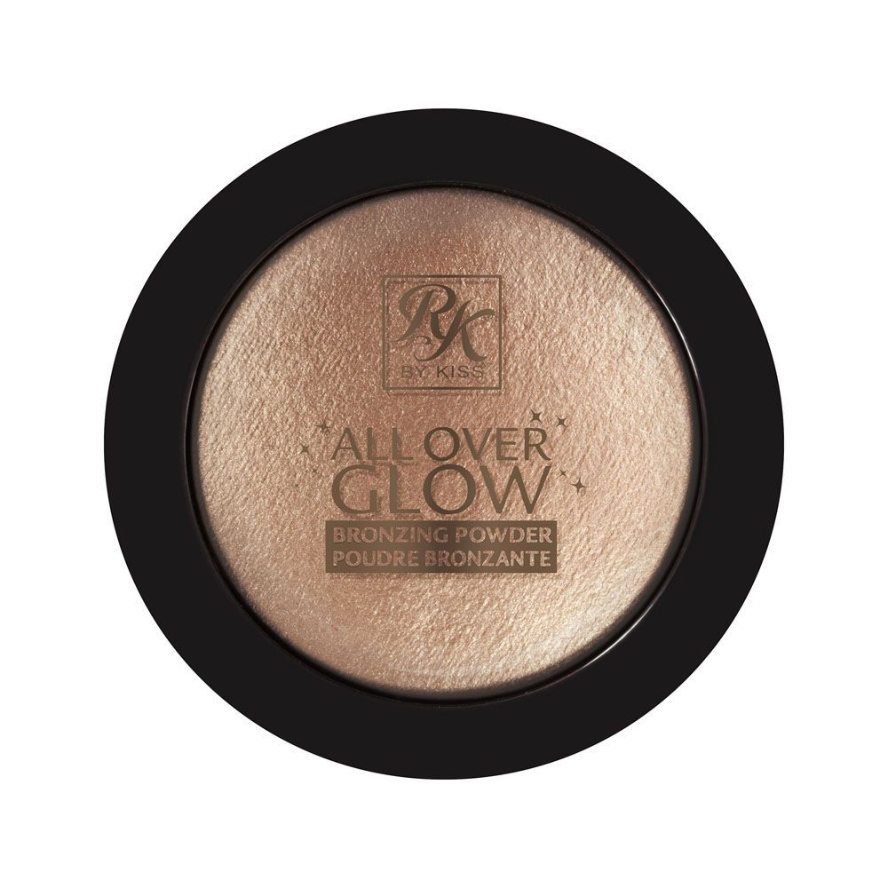 Pó Bronzeador Allover Glow Cor Flushed Glow 11,6g - RK By Kiss