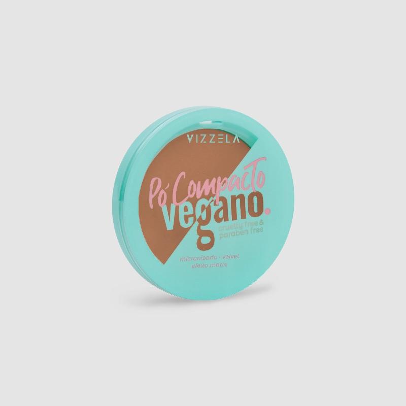Pó Compacto Vegano cor 10 - 9g - Vizzela