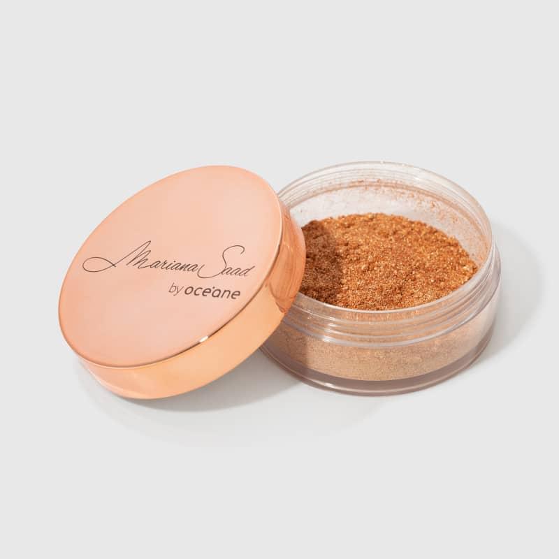 Pó Iluminador Skin Shine Gold 8g Mariana Saad - Oceane