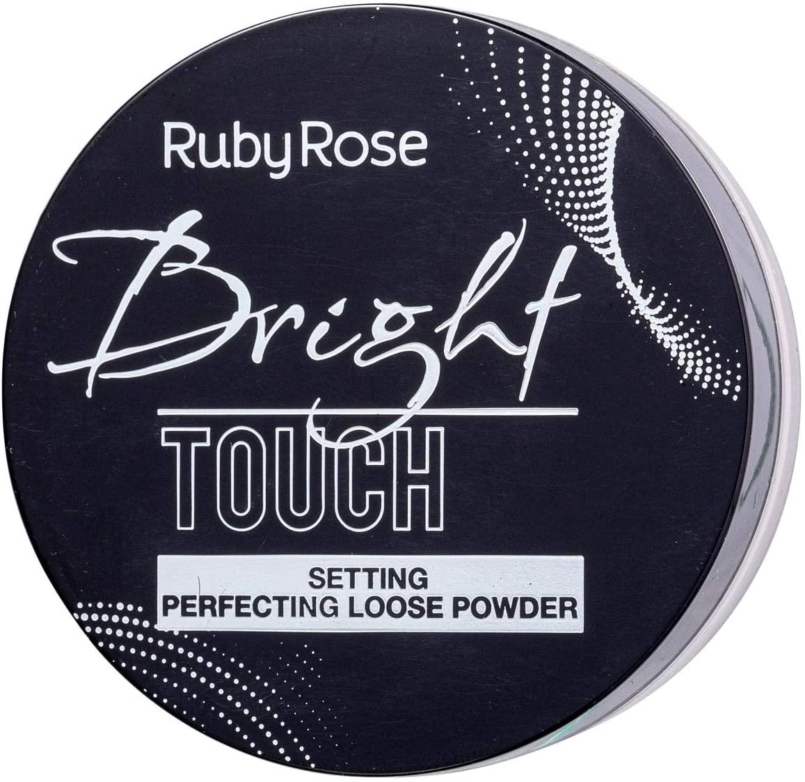 Pó Solto Bright Touch Neutro Claro 8,5g - Ruby Rose