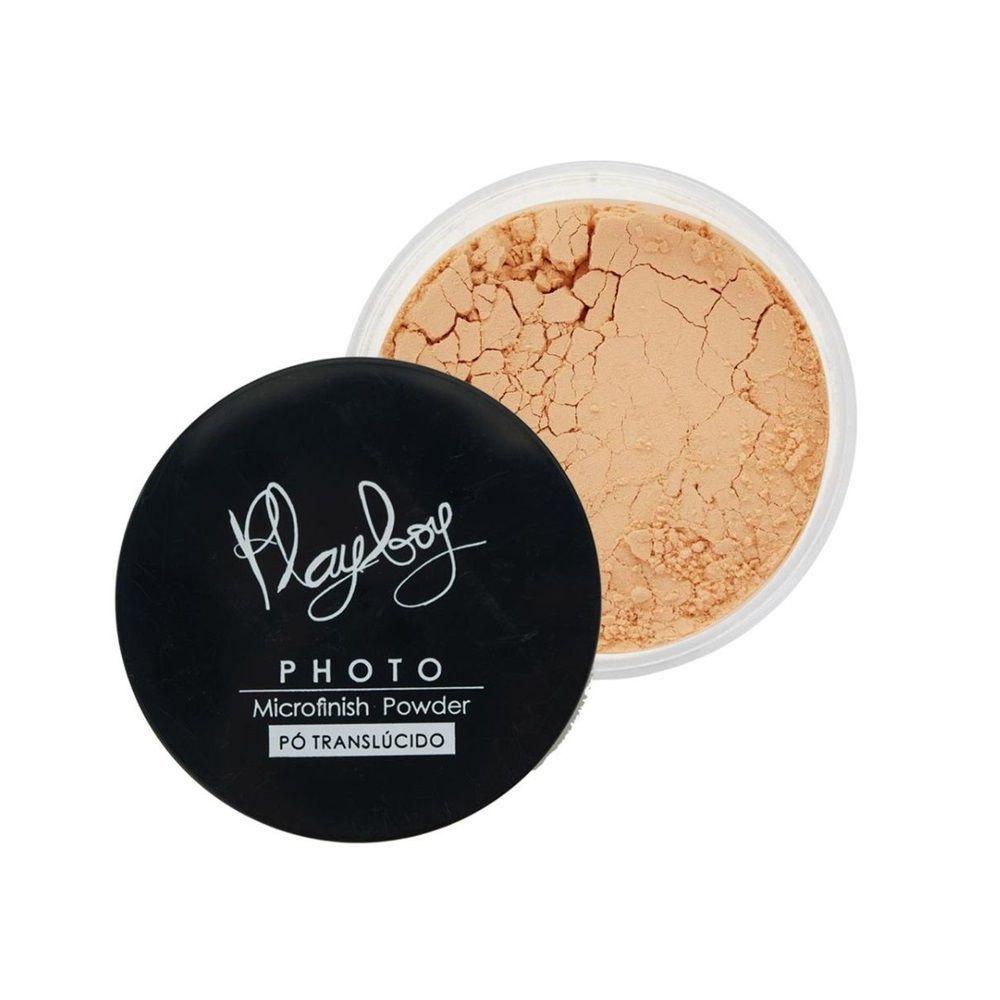 Pó translucido Photo Microfinish Powder -cor 3 - Playboy