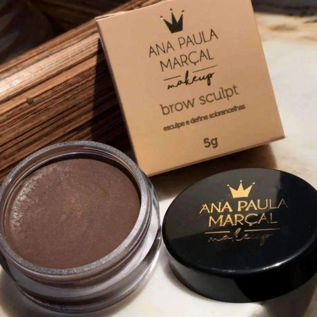Pomada Para Sobrancelha Brown Sculpt cor Chocolatier - Ana Paula Marçal Makeup