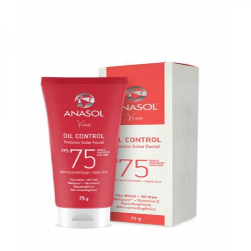 Protetor Solar Facial Viso Oil control FPS75 - 75g - Anasol