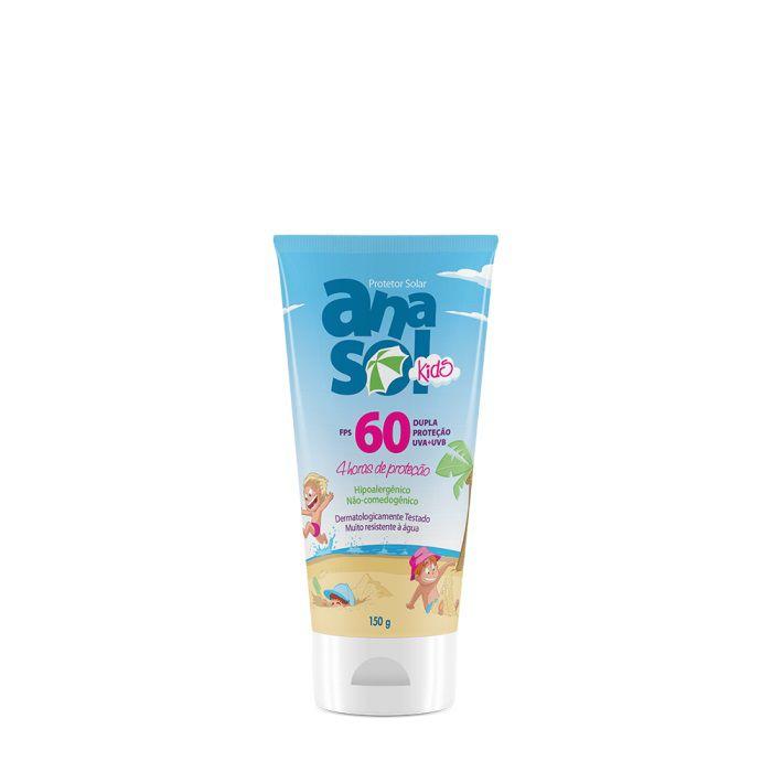 Protetor Solar Kids FPS 60 150g - Anasol