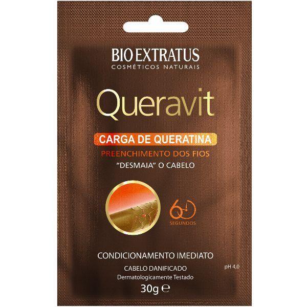 Queravit Carga de Queratina Desmaia Cabelo - 30g - Bio Extratus