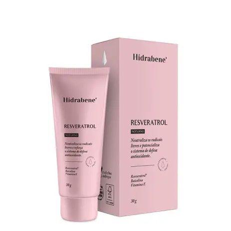 Resveratrol Noturno Antioxidante Facial - 30g - Hidrabene